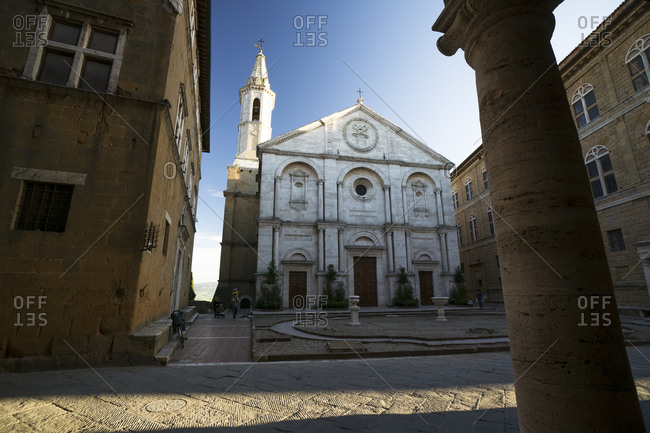 Cathedral Santa Maria Assunta, Pienza, Italy