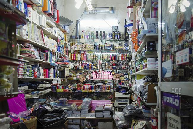 Istanbul, Turkey - February 8, 2014: Convenience store in Istanbul, Turkey