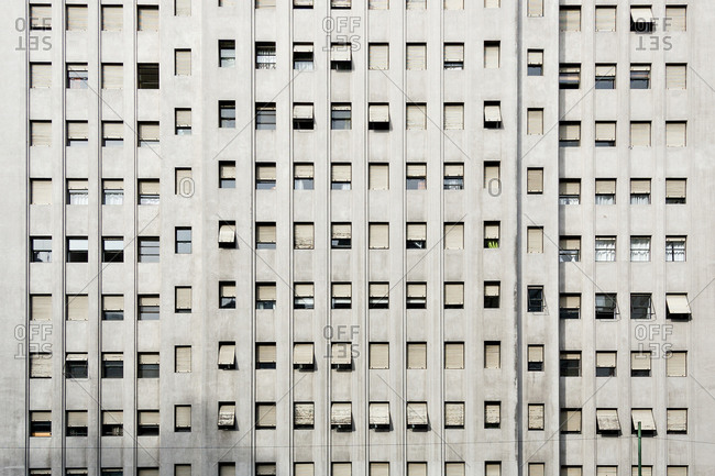 View of the Alas building in Buenos Aires, Argentina