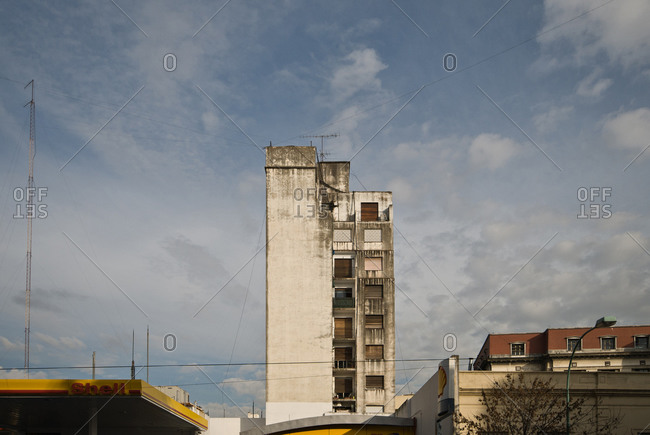 Buildings in Palermo district, Buenos Aires, Argentina