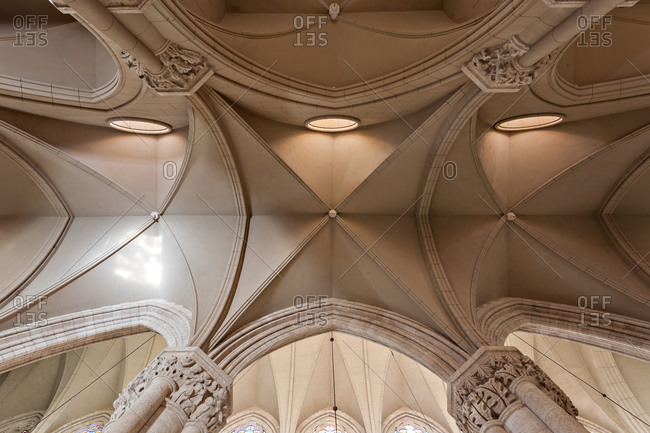 Ribbed vault of Basilica of Our Lady of Lujan, Argentina