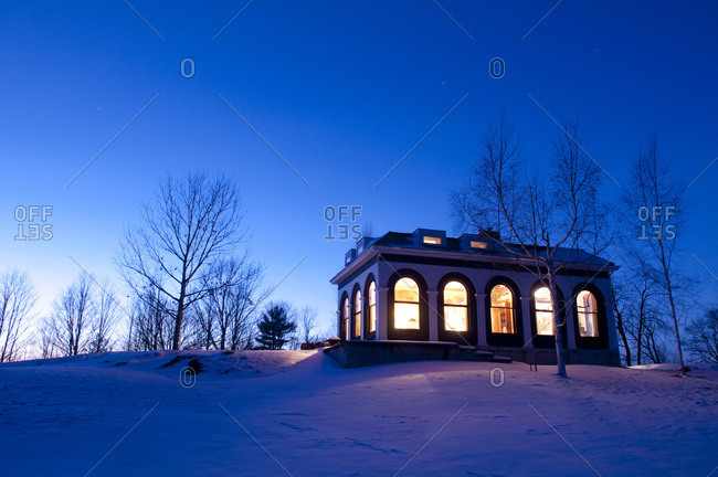 View of a house in Mount Pleasant, Vermont