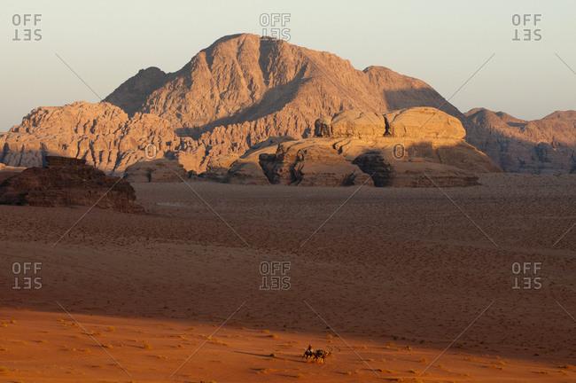 Landscape of Wadi Rum, Jordan