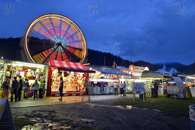 State Fair in Tunbridge, Vermont