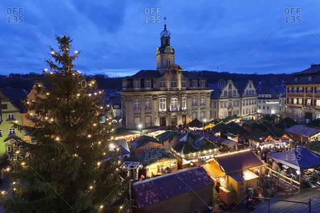Christmas fair,  Baden Wurttemberg, Germany