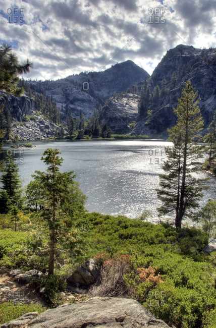 Afternoon at Eagle Lake in Desolation Wilderness near Lake Tahoe, California