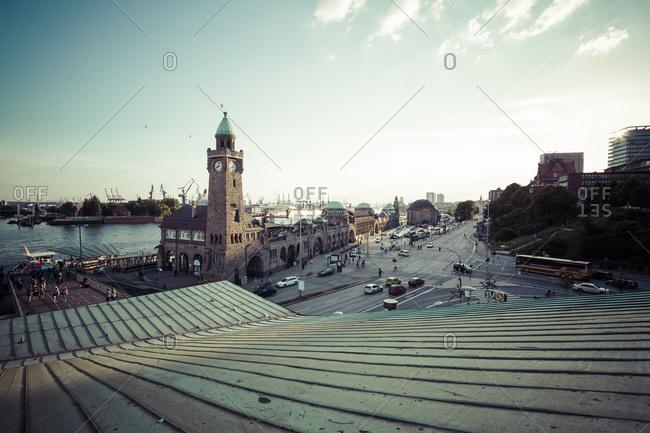 St Pauli Landing Stages, Hamburg