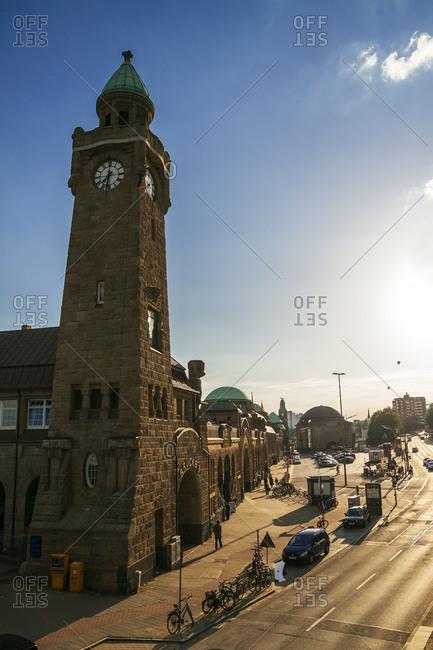 St Pauli Clock tower, Hamburg