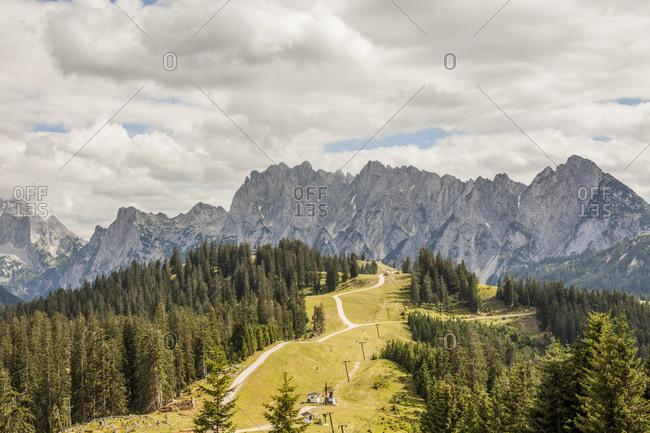 View to Dachstein Mountains - Offset