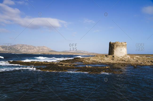 Tower at Pelosa, Sardinia