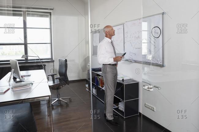 Munich Businessman in office