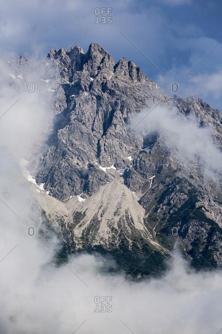 Allgaeu High Alps, Little Widderstein in fog