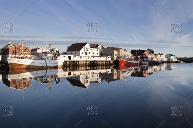 Fishing village at Lofoten Island, Norway