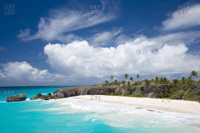 Tropical Bottom Bay in Barbados