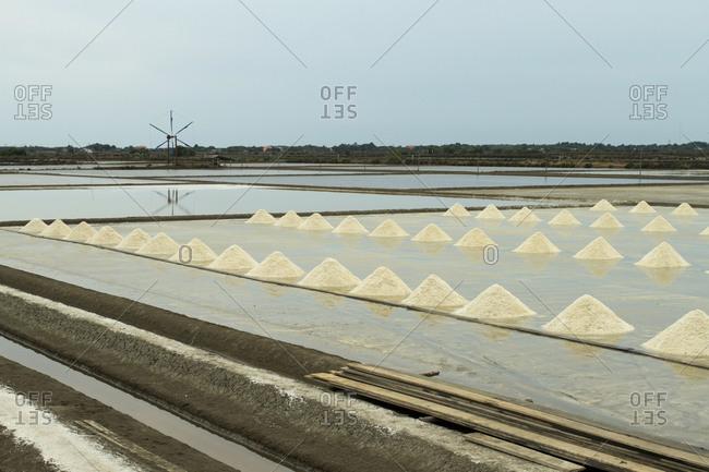 Samut Sakhon, salt basin for salt production