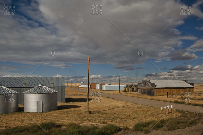 Agricultural buildings in Montana - Offset