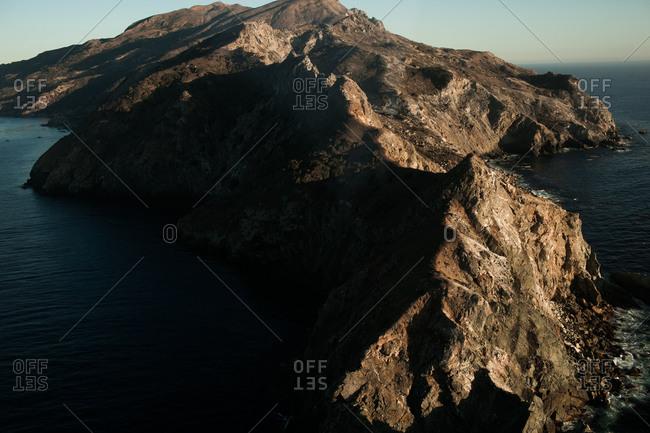 View of Santa Catalina Island in California, USA