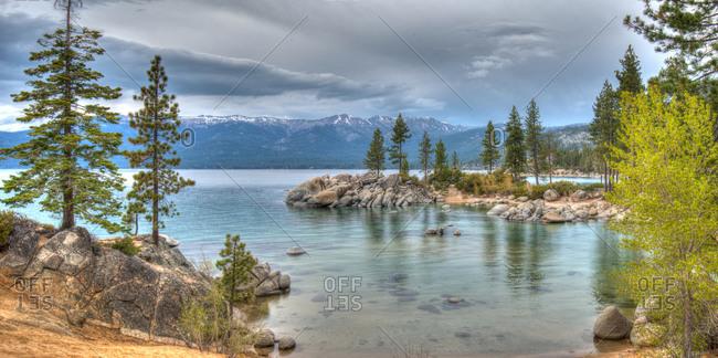 Sand Harbor State Park at Lake Tahoe.