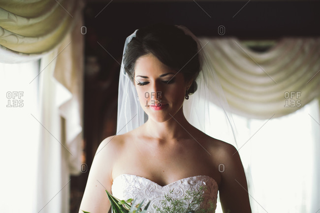 Bride before the wedding