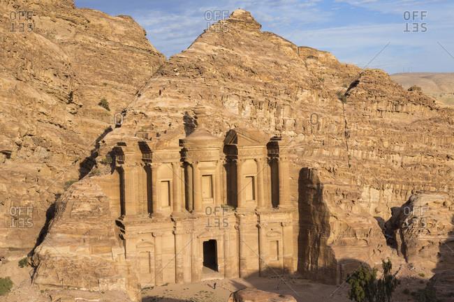 View of the Monastery, Petra, Jordan