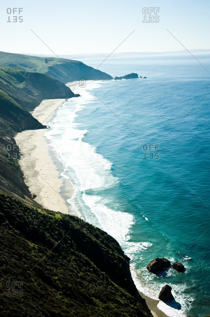 Coastline of Point Reyes Peninsula