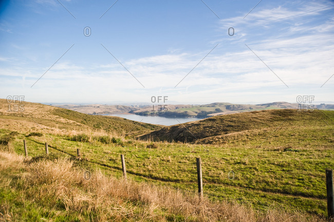 Landscape of Pierce Point in Point Reyes, USA
