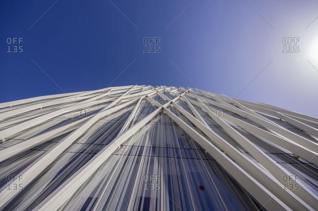 Spain, Barcelona - June 7, 2014: Detail of Diagonal ZeroZero building