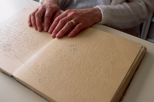Reading in Braille - Offset Collection