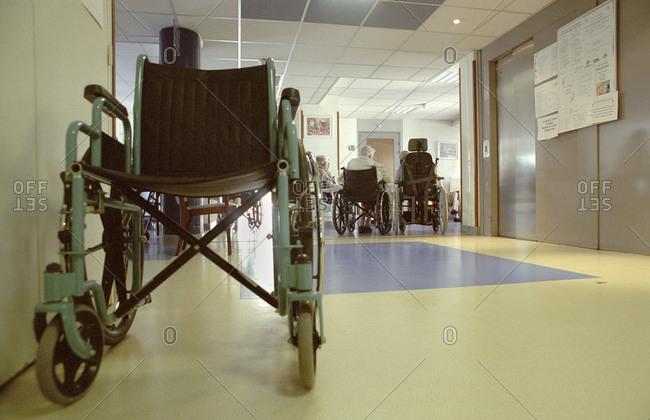 Nursing home for the elderly.