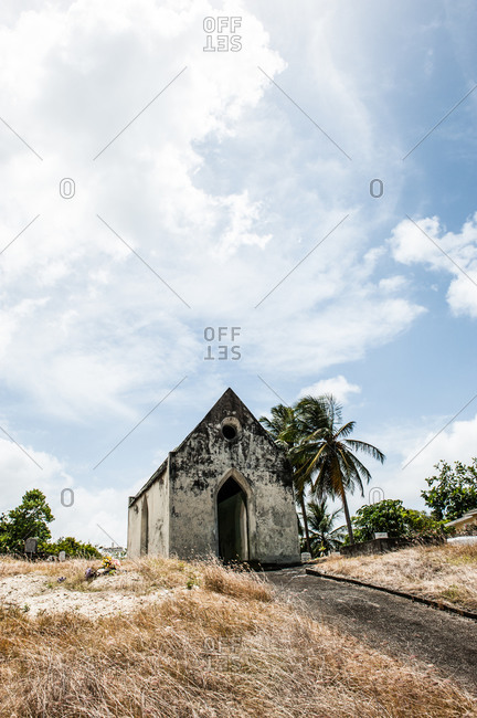 An old stone chapel in Barbados