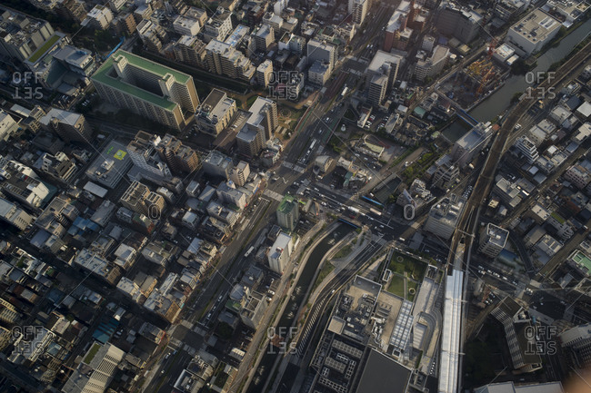 View towards Asakusa and Sumida river