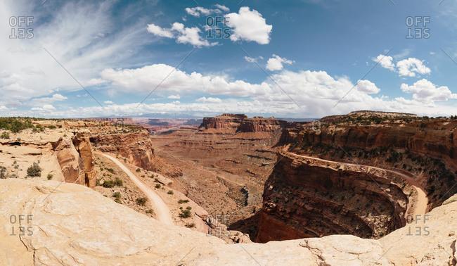 A desert canyon in Utah, USA