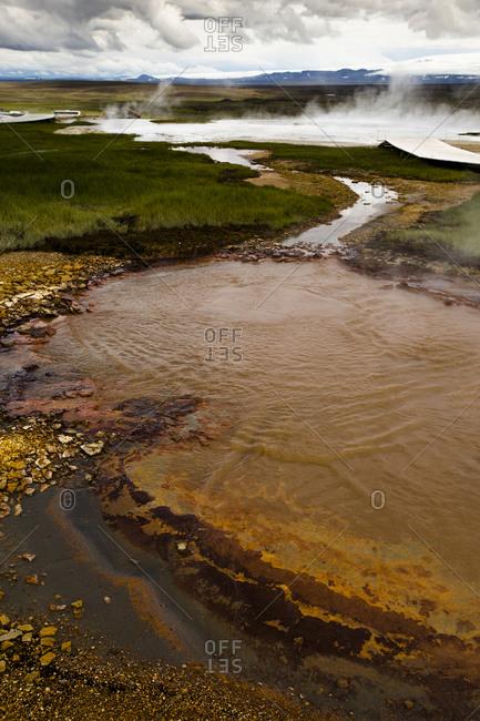 Geothermal area, Hveravellir