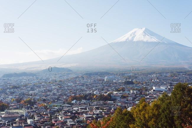 Mount Fuji in autumn