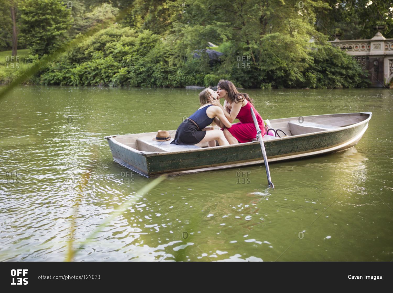 Lesbian Sex On A Boat 24