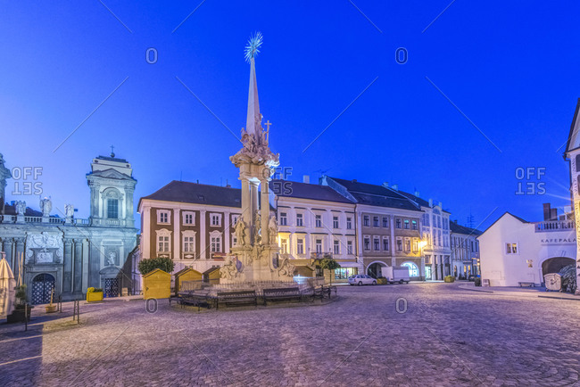 Town Square at Dawn
