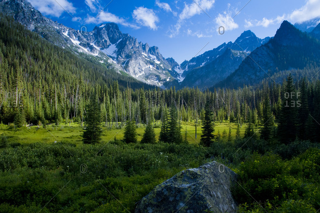 Mt. Stuart, Alpine Lakes Wilderness, Okanogan-Wenatchee National Forest