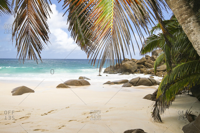 Anse Intendance beach, Mahe Island, Seychelles