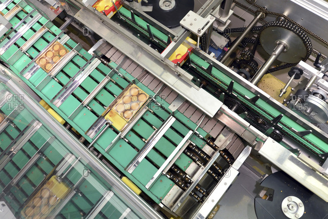 Packing machine in the baking industry