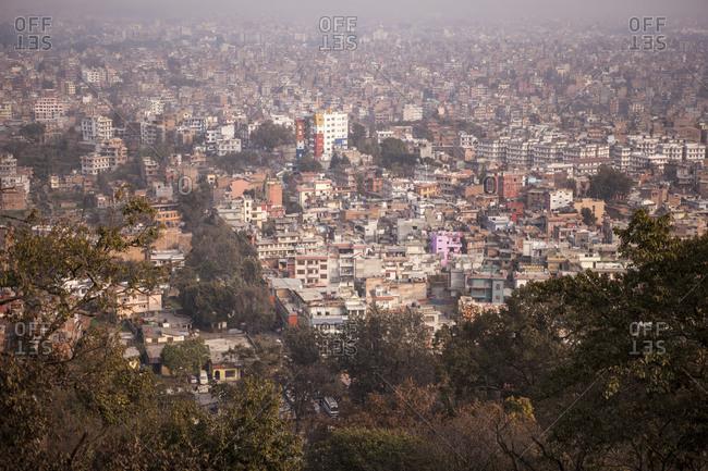 A view of Kathmandu, Nepal