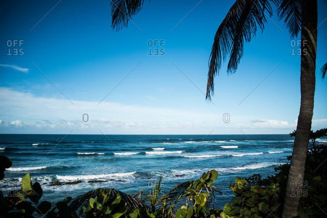 Caribbean beach at Puerta De Tierra, Puerto Rico