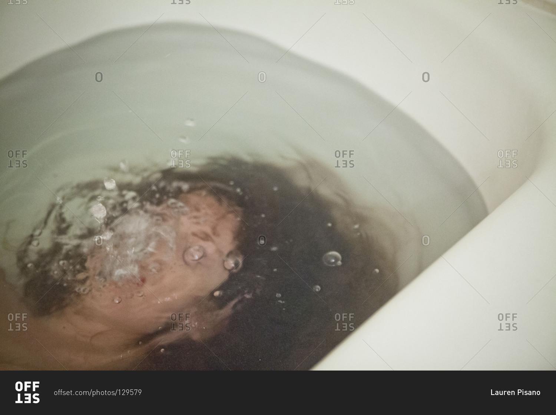 Woman Nude In Bathtub 80