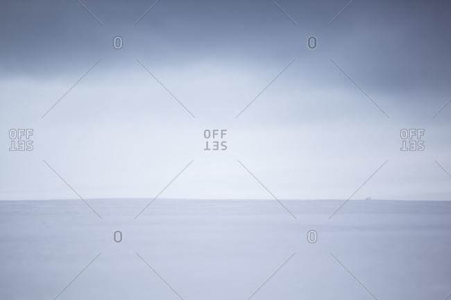 Landscape of the white Antarctica