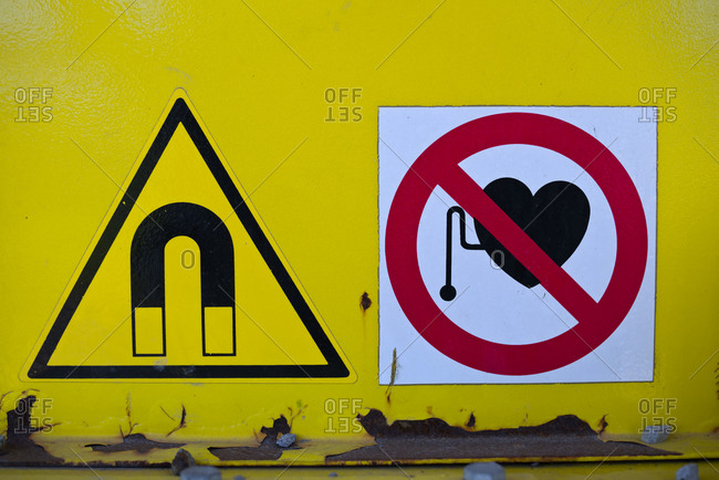 No pacemaker sign