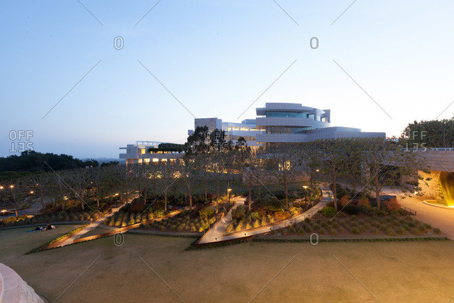 View of the Getty Center, Los Angeles