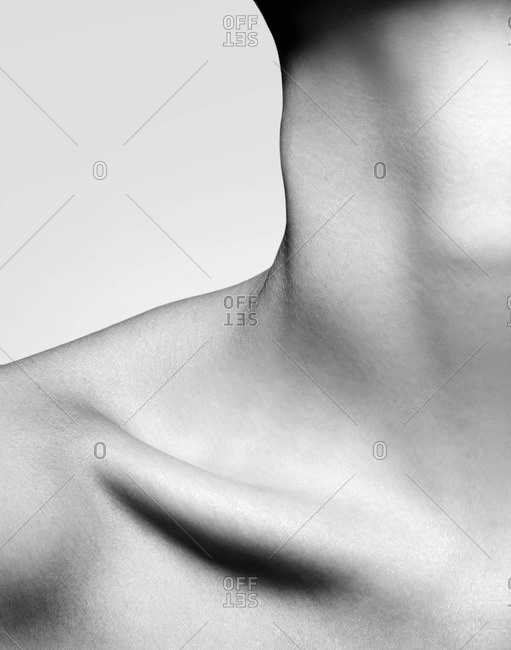 Close up of neck