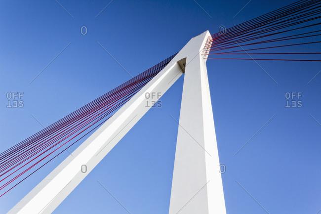 Raiffeisen Bridge, low angle view