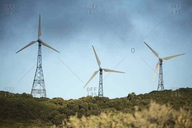 Wind farm, Andalusia, Spain - Offset