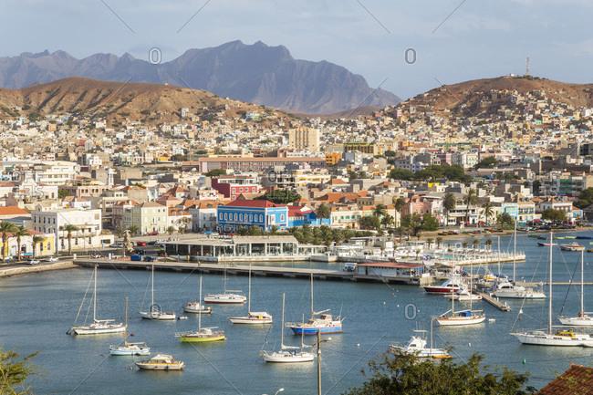 View over Mindelo, Sao Vicente, Cape Verde