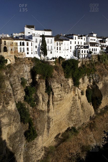 The village of Ronda in Andalusia, Spain